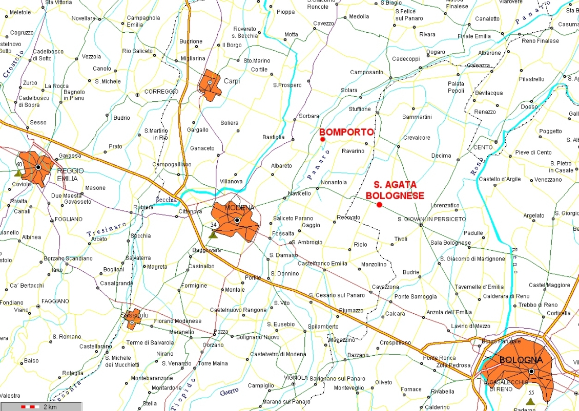 Provincia Bologna Cartina.Autoscuola Silvio Bisighini Dove Siamo